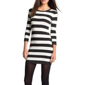 NWT French Connection Bambi Stretch Stripe Dress